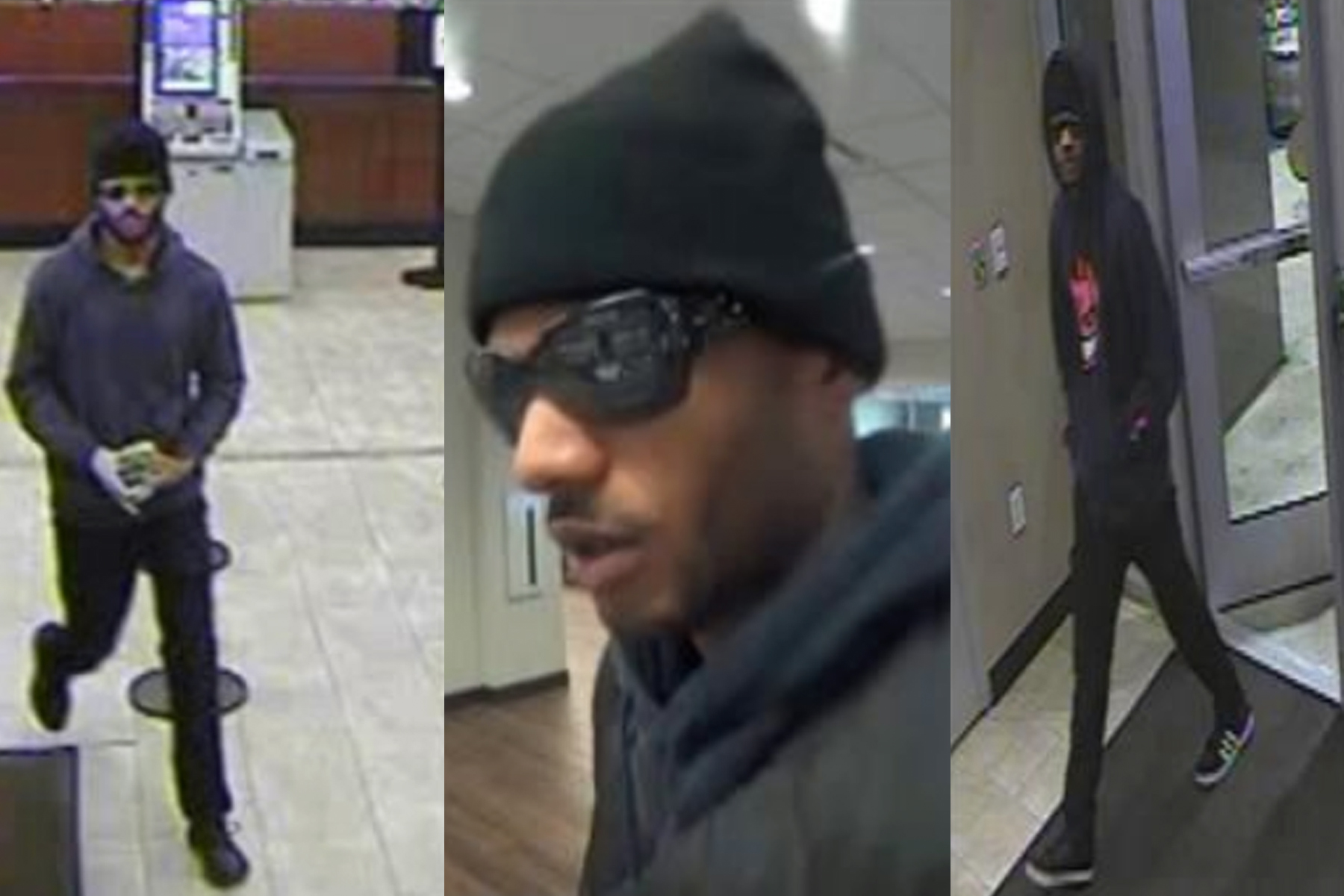 Man accused of robbing five banks on Dec. 16, 2019. (Credit: LAPD)