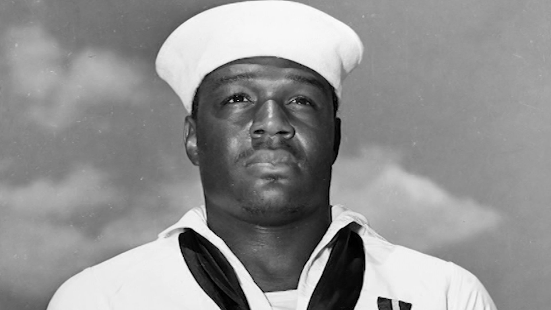 Sailor Doris Miller is seen in a photo from the U.S. Navy.