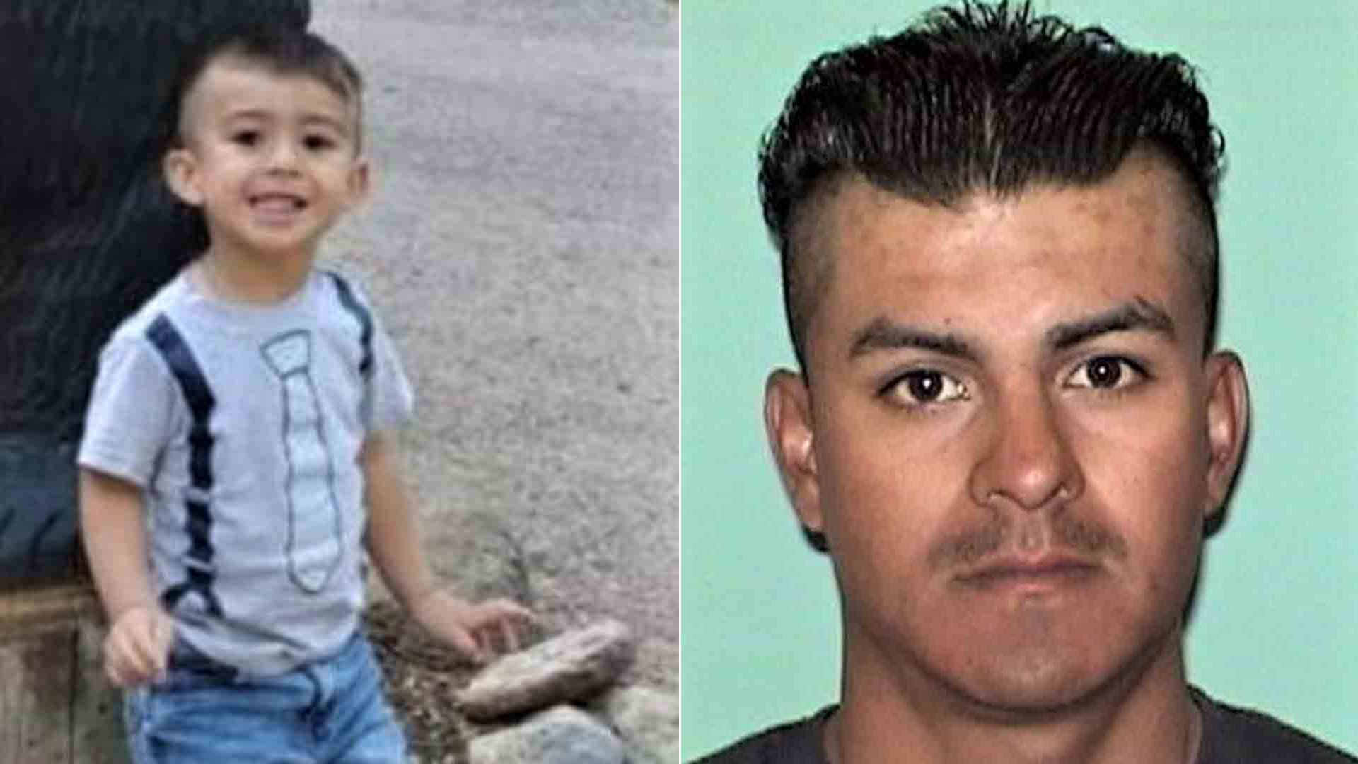 Osiel Ernesto Rico, left, and Jorge Rico-Ruvira, right, are seen in photos released by police in Roswell, New Mexico, on Jan. 7, 2020.