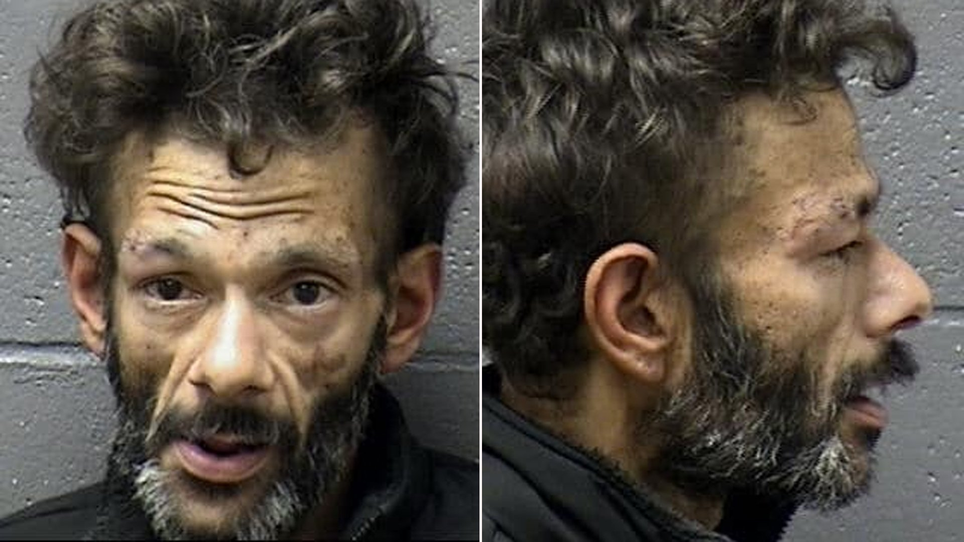 Shaun Weiss is seen in an image provided by the Marysville Police Department.