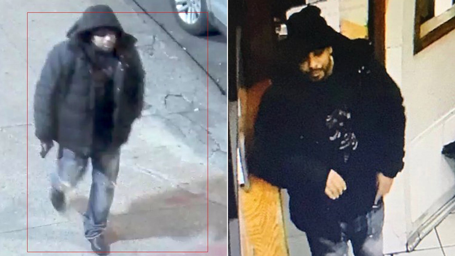 Investigators released photos of a man believed responsible for the ambush attacks of two New York police officers within 12 hours on Feb. 8 and Feb. 9, 2020. (Credit: New York Police Department)