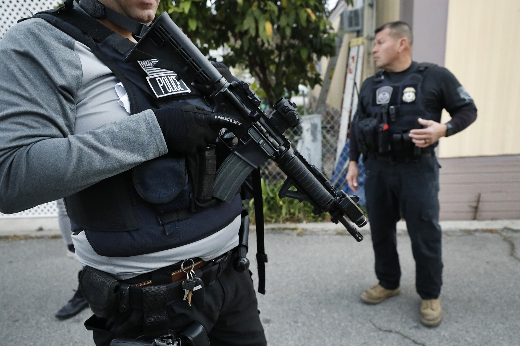 David A. Marin, a director of enforcement and removal operations with ICE, is seen in this photo on March 16, 2020. (Al Seib/Los Angeles Times)