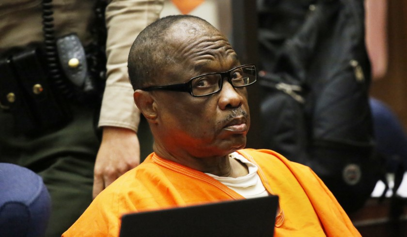 "Lonnie David Franklin Jr., nicknamed the ""Grim Sleeper"" serial killer.(Al Seib / Los Angeles Times)"