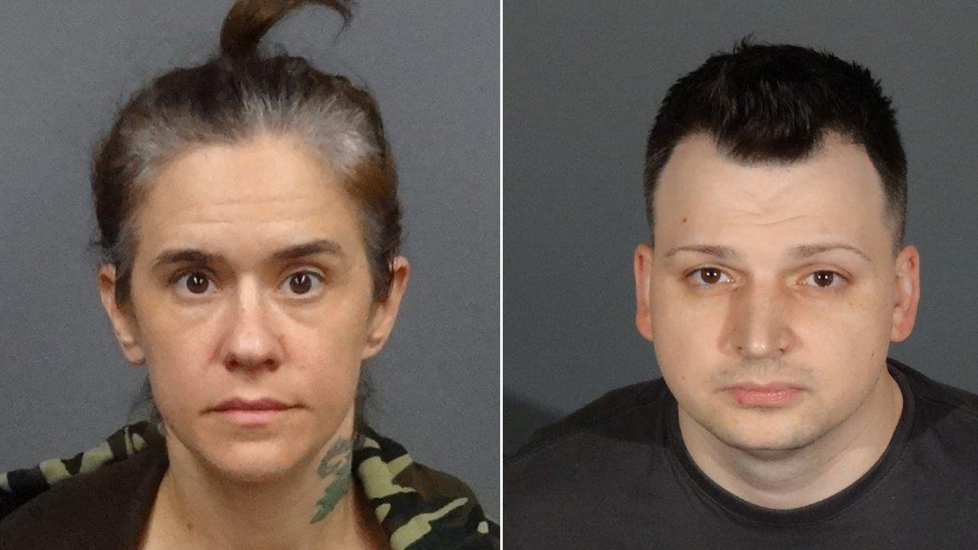 Erin Jill Maloney, 37 and Richard A Rapp, 34, were arrested after their 9-month-old was hospitalized with cocaine and meth in her bloodstream. (West Covina Police Department)