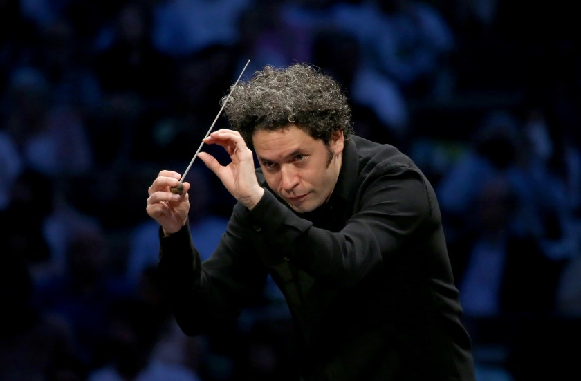 Gustavo Dudamel, music and artistic director of the Los Angeles Philharmonic, is shown in this undated photo.(Los Angeles Times)