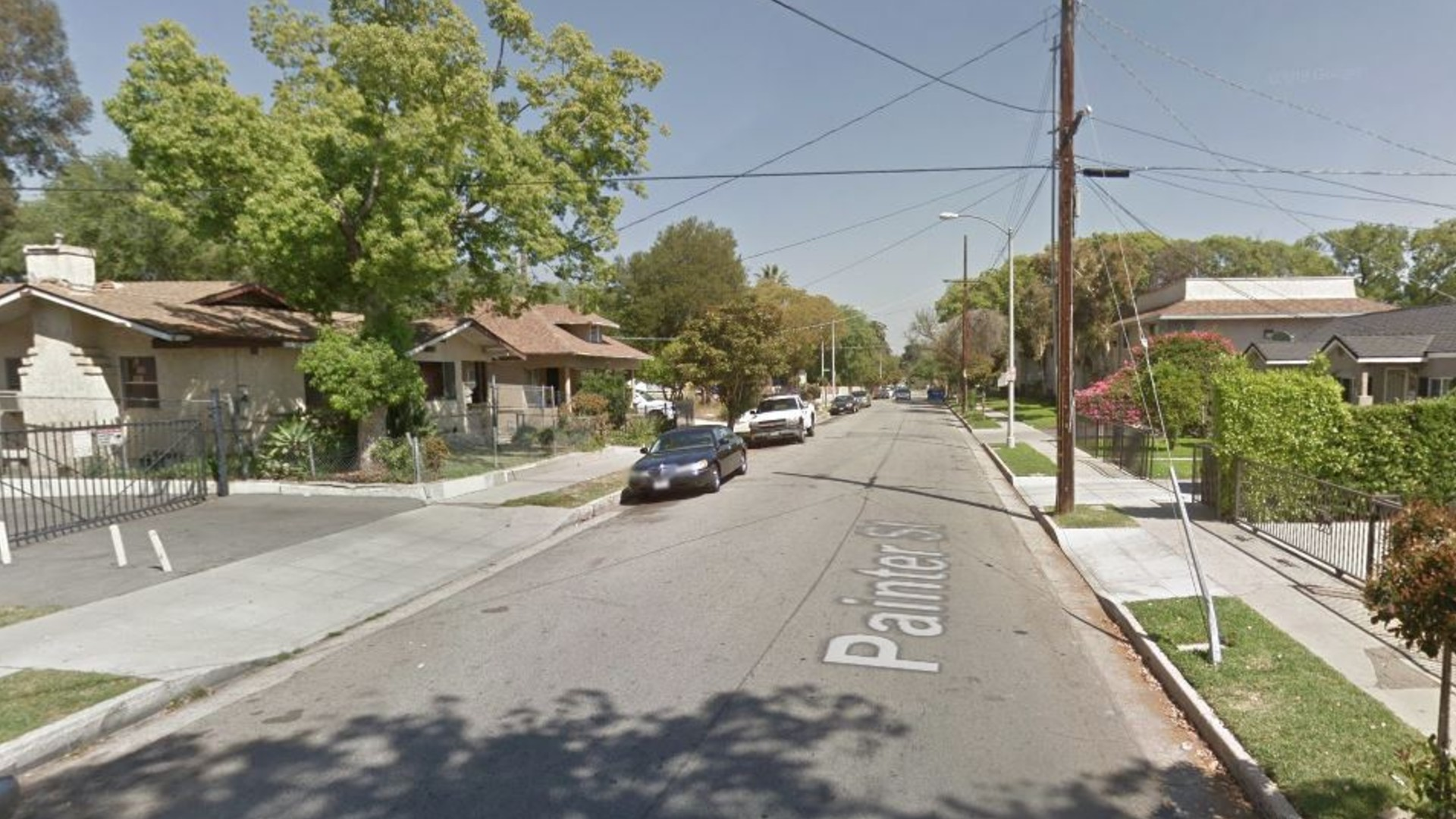 The 100 block of Painter Avenue in Pasadena, as pictured in a Google Street View image.