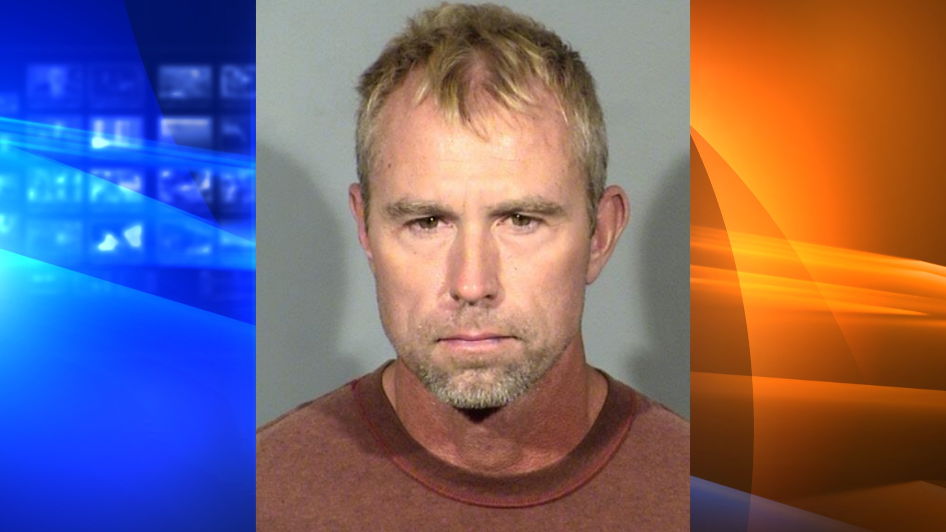 Terry Gray, 52, is seen in a booking photo released by the Las Vegas Metropolitan Police Department on July 11, 2020.
