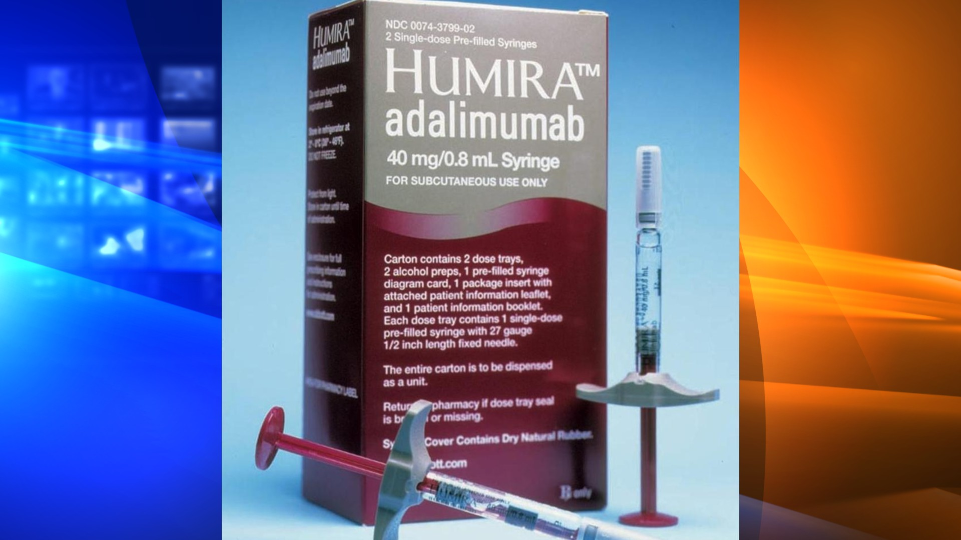 Humira, rheumatoid arthritis therapy made by Abbott Laboratories, is seen in a file photo. (AP Photo)