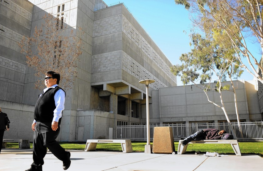 From March through December 2020, at least 691 Orange County jail inmates have tested positive for COVID-19.(Christina House / Los Angeles Times)