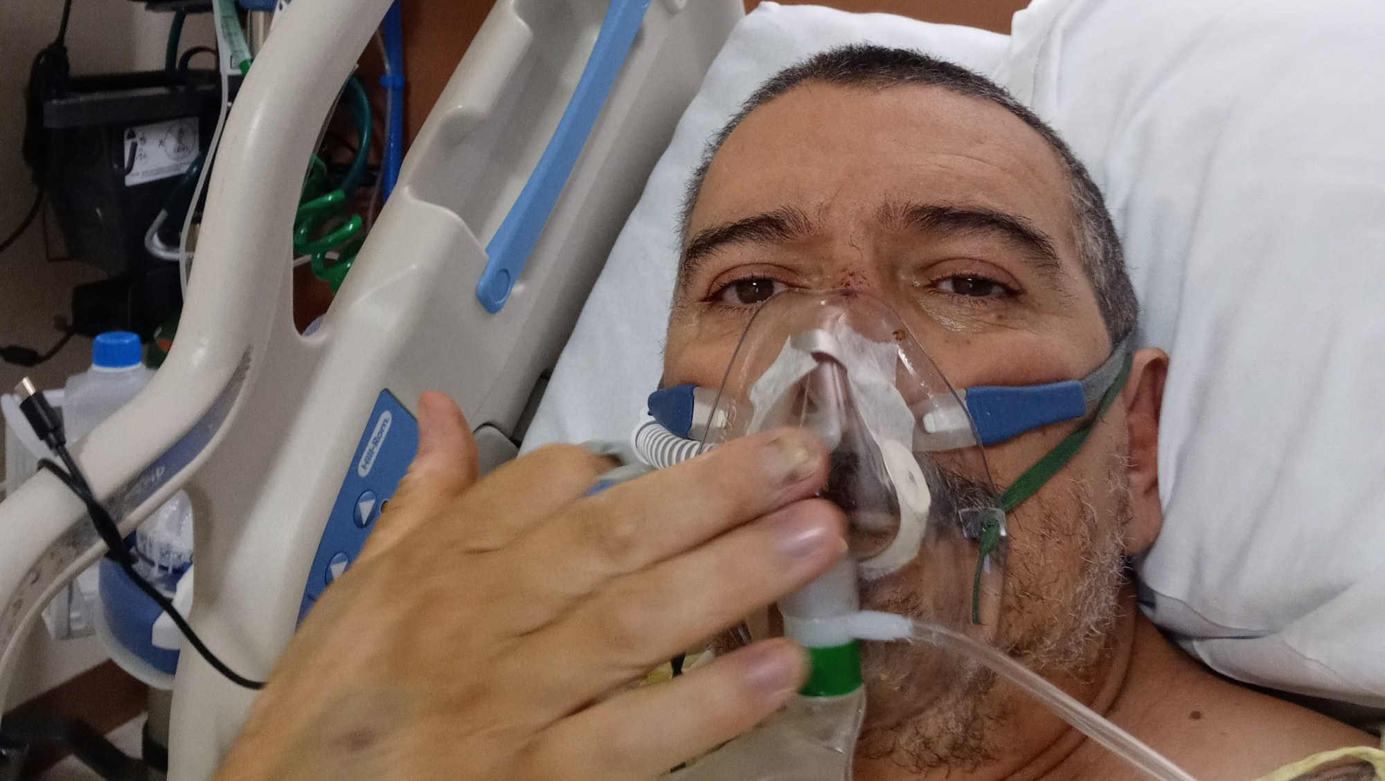 Ruben Gonzalez, shown in this undated photo, spent three months in the ICU after he contracted COVID-19. (GoFundMe)