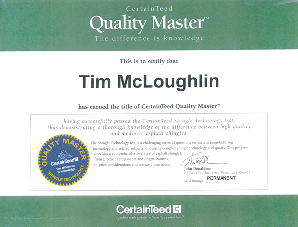 CertainTeed-Quality-Master