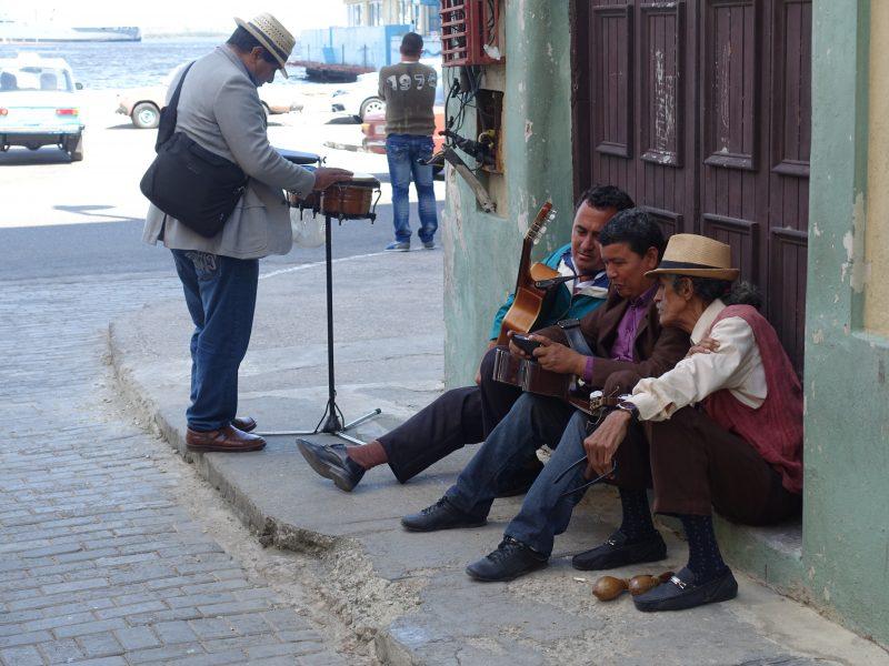 Grajkowie w Hawanie.