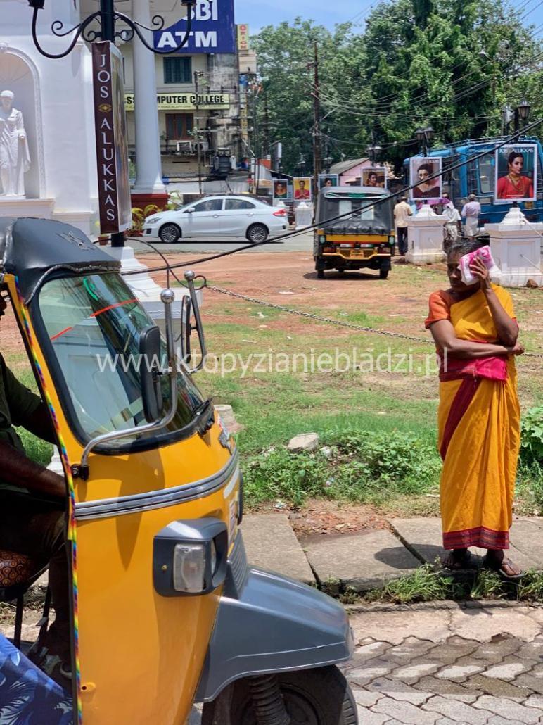 Sari. Typowy strój indyjski.