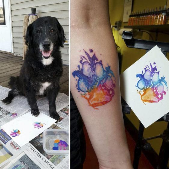 Najlepsze Tatuaże Z Motywem Psiej łapy Kto Się Nie Dziara
