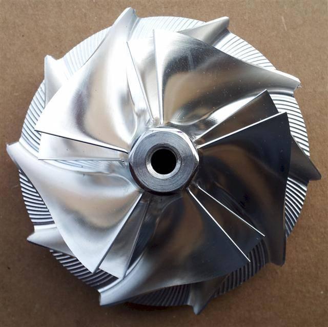 Dieselsite Wicked Wheel 2 Performance Compressor Wheel