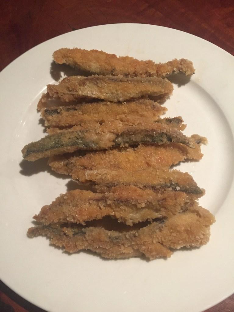 gluten free dairy free crumbed fish crispy