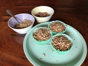 apple crumble muffins gluten free dairy free egg free