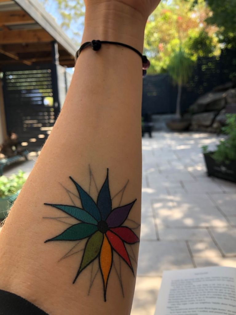 tattoo support family friends healing journey cancer holistic health