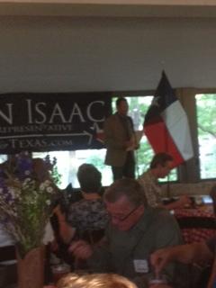 State Representative, Jason Isaac