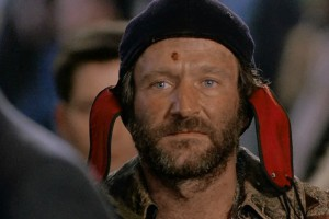 """Robin Williams in """"The Fisher King"""""""