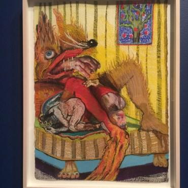 Natalie Franks: The Brothers Grimm exhibit.