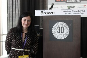 """Leanne Brown, Author of """"Good & Cheap."""" Photo y Travis Tyler"""