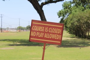 Closing Texas State Golf Course