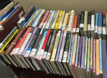 These are some of the books that have been banned across the United States. Photo by Maria Martinez.