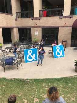 students against hate speaker
