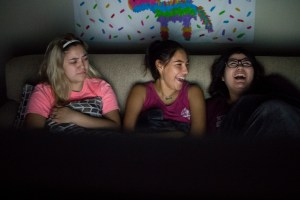 laughing at scary movies 1
