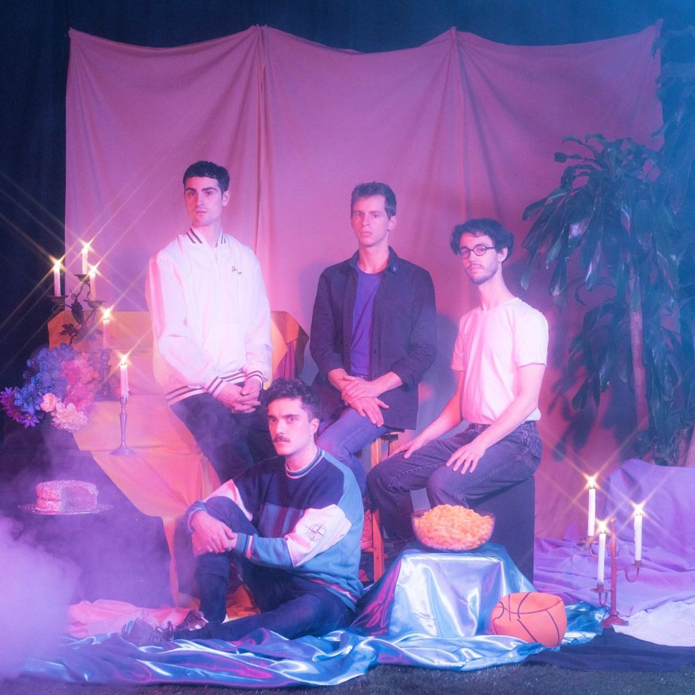 Band members of Look Vibrant posing