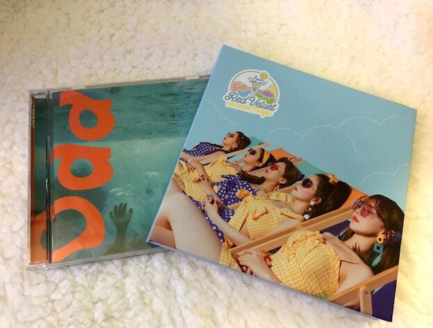 two album boxes