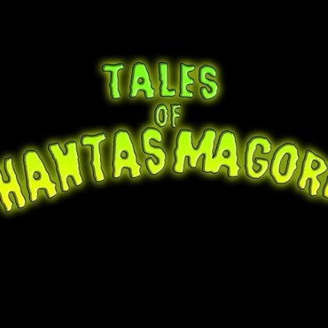 Green font of the title sequence