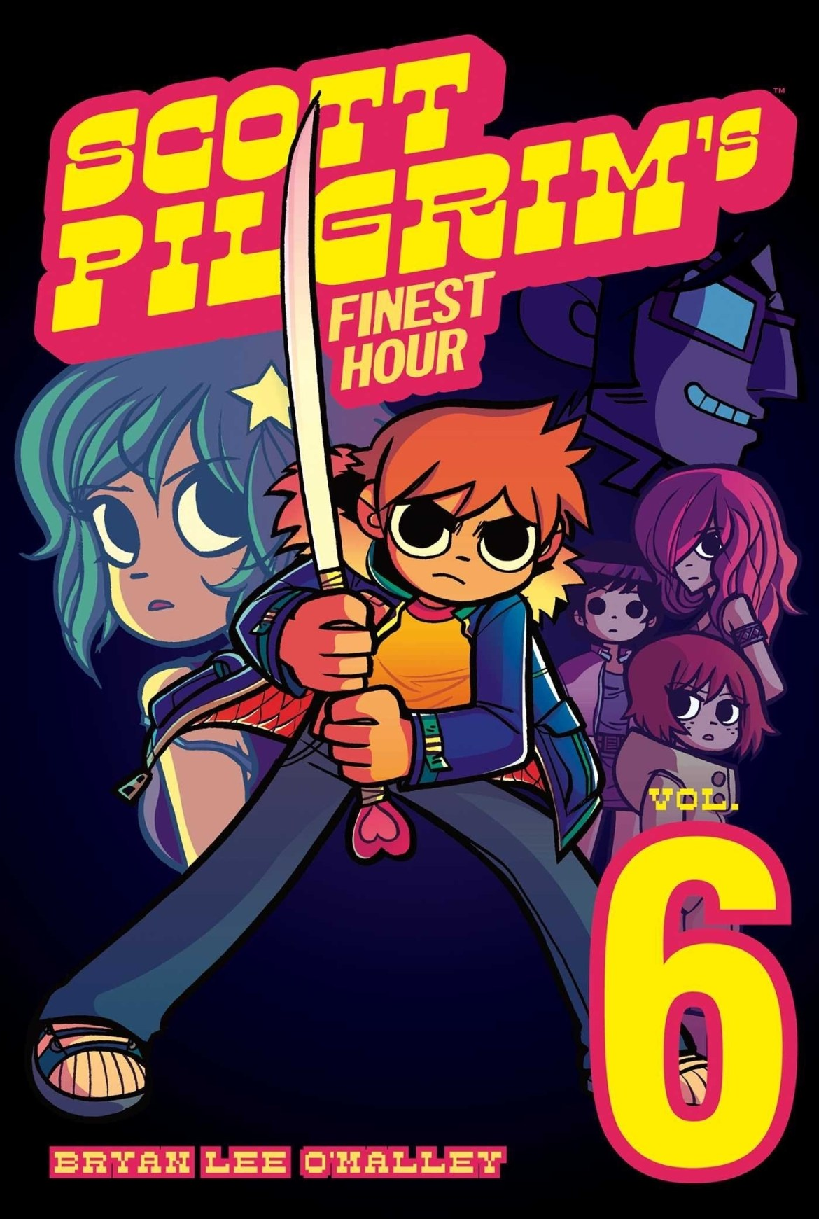 cover of Scott Pilgrim's Finest Hour