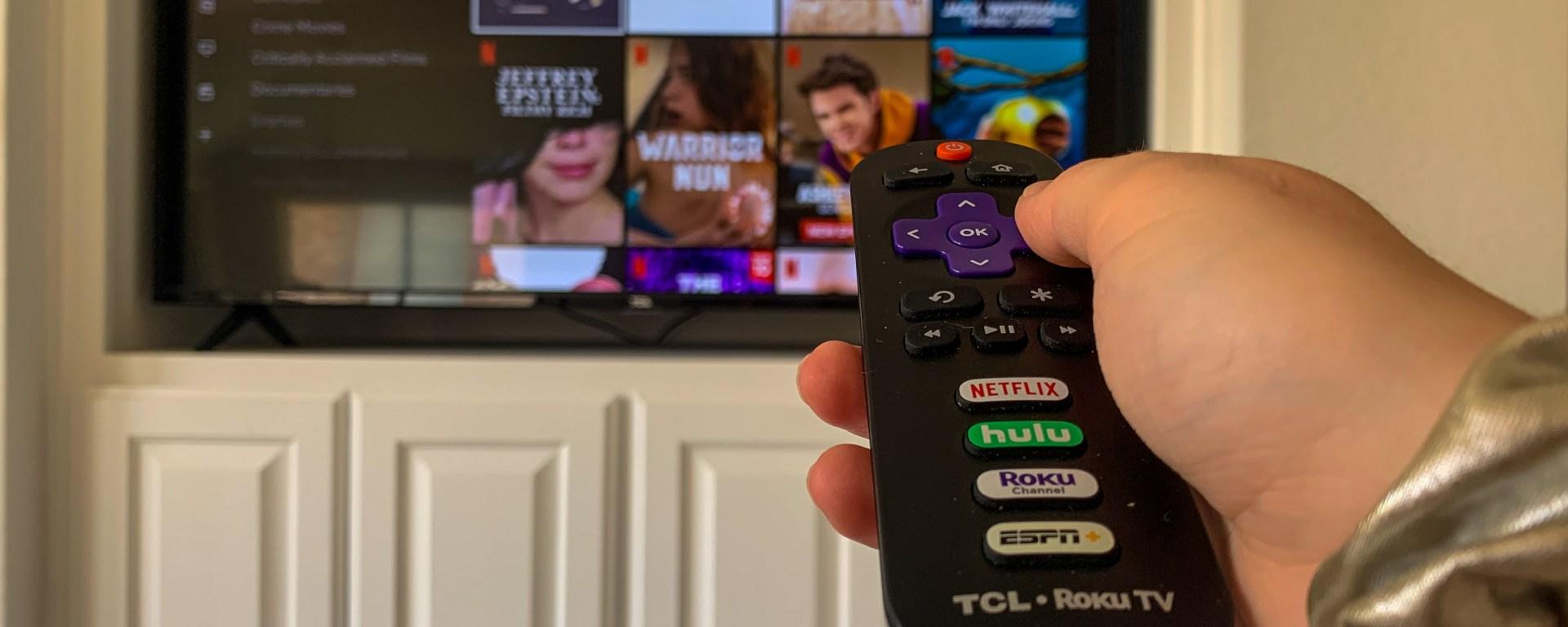 A remote sifting through the Netflix Original category.