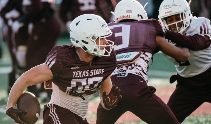 Texas State football opens the season at home against SMU on Saturday, August 29.