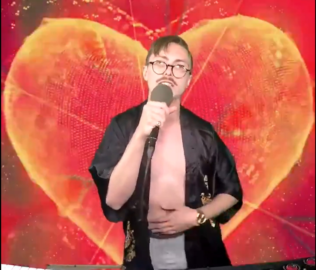 Marc Rebillet Performing