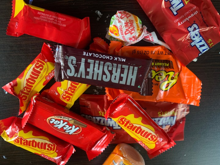 An assortment of different candy