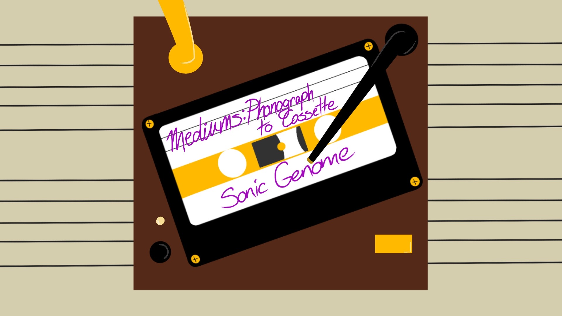 Sonic Genome: Mediums: Phonograph to Cassette