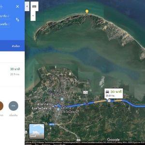 ขาย ที่ดินติดทะเล ปัตตานี ยะหริ่ง ขนาด 24 ไร่ หาดตะโละกะโปร์ แหลมโพธิ์