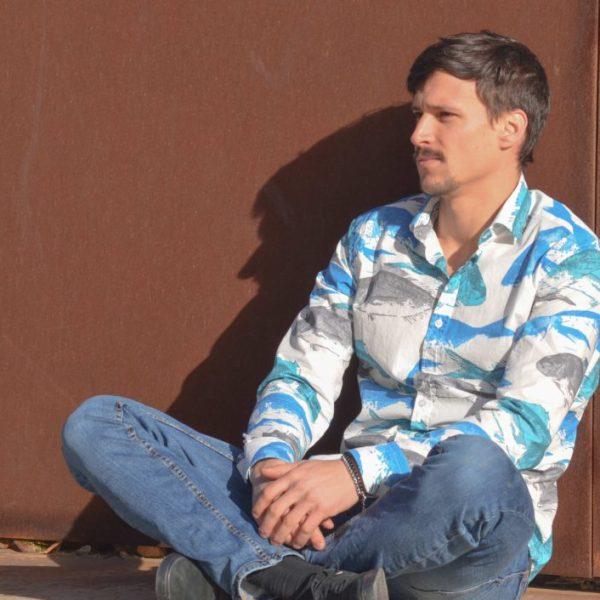 Camisa manga larga mediterráneo