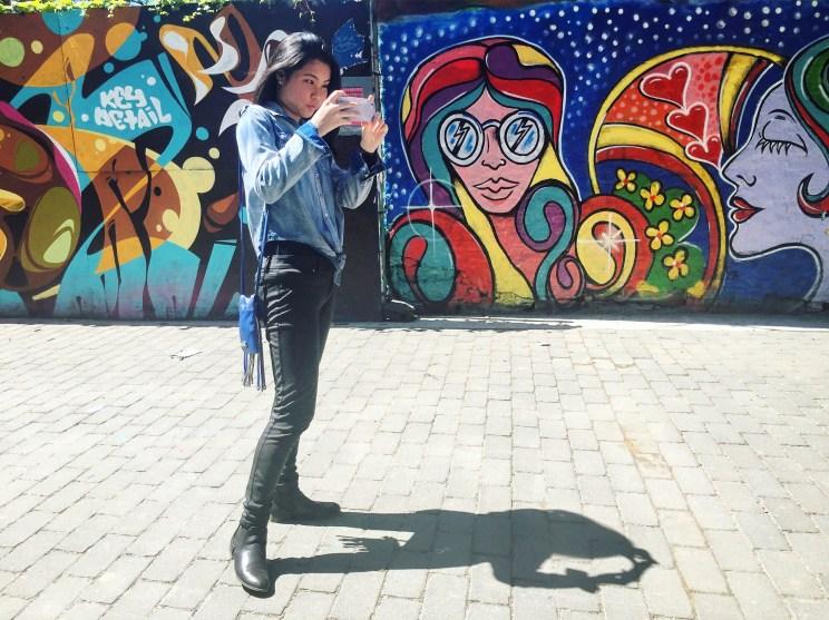 Street art on the Lower East Side