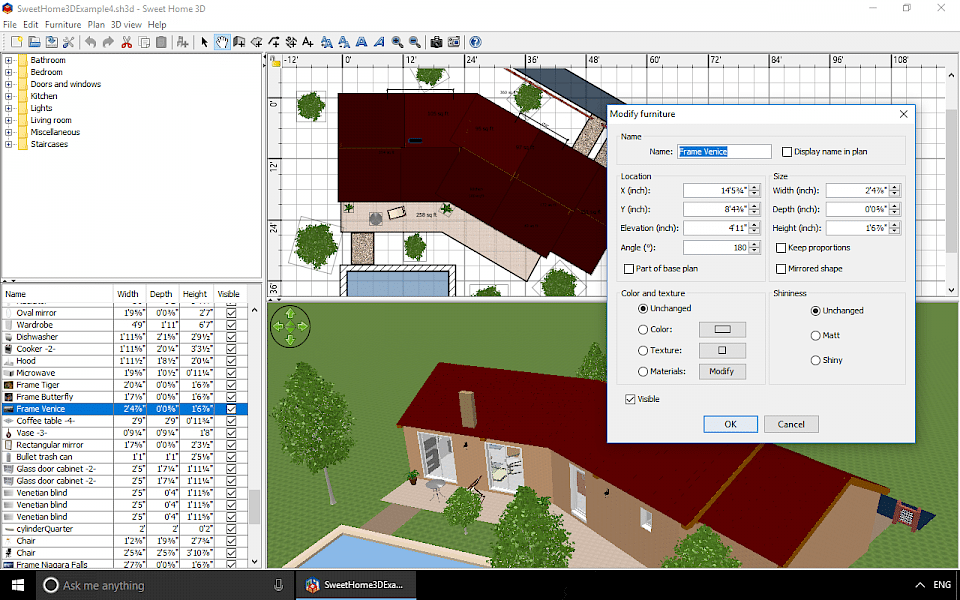 A) press windows and x together on … Sweet Home 3d Download