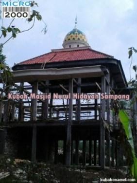 Kubah Masjid Nurul Hidayah Sampang