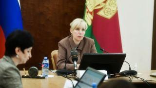 Анна Минькова на краевом совещании обсудила развитие амбулаторно-поликлинической помощи в регионе