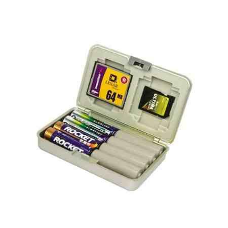 Caja para pilas y memorias