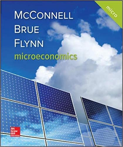 Microeconomics (Mcgraw-hill Series Economics) 9781259915727 Economics  @