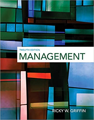 Management Griffin, Ricky W. 9781305501294