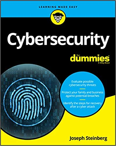 Cybersecurity For Dummies (For Dummies (Computer/Tech)) Steinberg, Joseph 9781119560326