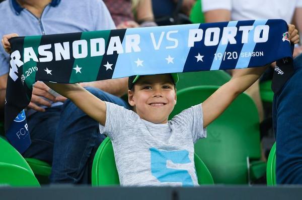 Где посмотреть матч «Порту» - «Краснодар»